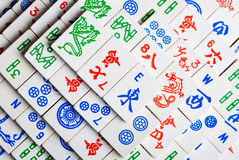 Mah Jong Tiles royalty free stock images
