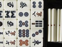 Mah Jong Tiles Royalty Free Stock Images