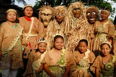Mah Meri people Royalty Free Stock Photos