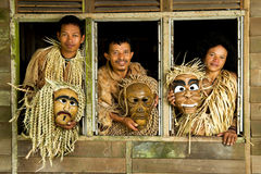 Mah Meri People Stock Image