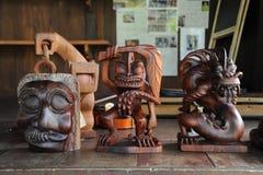 Mah Meri Sculpture Stock Photo