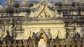 Maha Aung Mye Bon Zan kloster arkivfilmer