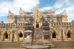 Maha Aung Mye Bon Zan Monastery. Stock Photo
