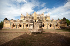 Maha Aung Mye Bon Zan Monastery. Royalty Free Stock Photo