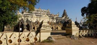 Maha Aung Mye Bonzan monaster Inwa, Myanmar (,) Fotografia Stock