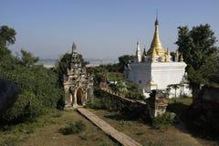 Maha Aung Mye Bonzan monaster Inwa, Myanmar (,) Fotografia Royalty Free