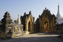 Maha Aung Mye Bonzan monaster Inwa, Myanmar (,) Zdjęcia Stock