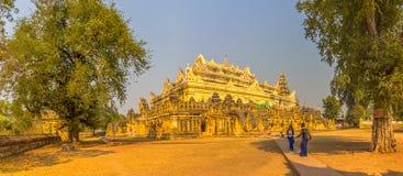 Maha Aungmye Bonzan, Mandalay Stock Photo