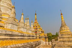Maha Aungmye Bonzan, Mandalay Stock Photos