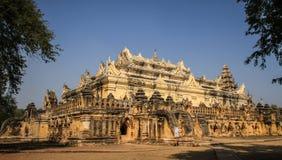 Maha Aungmye Bonzan Monastery, città antiche, Inwa, regione di Mandalay, Myanmar immagini stock libere da diritti