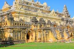 Maha Aungmye Bonzan Monastery, Innwa, Myanmar Fotografie Stock