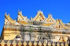 Maha Aungmye Bonzan Monastery, Innwa, Myanmar Immagine Stock Libera da Diritti