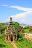 Maha Aungmye Bonzan Monastery, Innwa, Myanmar Fotografia Stock Libera da Diritti