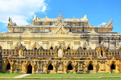 Maha Aungmye Bonzan Monastery, Innwa, Myanmar Immagini Stock