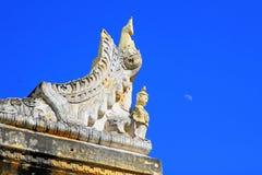 Maha Aungmye Bonzan Monastery, Innwa, Myanmar Fotografia Stock