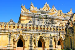 Maha Aungmye Bonzan Monastery, Innwa, Myanmar Royalty-vrije Stock Afbeeldingen