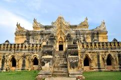 Maha Aungmye Bonzan Monastery, Inwa immagini stock libere da diritti