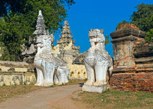 Maha Aungmye Bonzan Monastery. Inwa (Ava). Myanmar Stock Images