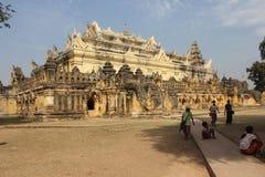 Maha Aungmye Bonzan Monastery in Inwa, Myanmar fotografia stock