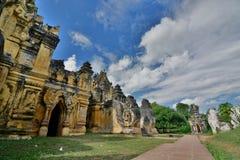 Maha Aungmye Bonzan Monastery Inwa Regione di Mandalay myanmar fotografie stock