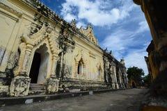 Maha Aungmye Bonzan Monastery Inwa Regione di Mandalay myanmar immagine stock