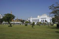 Maha bandoola garden, Yangon, Myanmar Stock Image