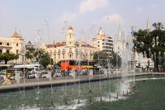 Maha Bandula Park em Yangon Fotos de Stock