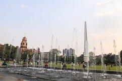 Maha Bandula Park in Rangoon Immagini Stock