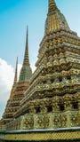Maha Chedi Si Ratchakan på det Phra Nakhon området Arkivfoton