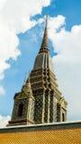 Maha Chedi Si Ratchakan Temple at Wat Pho in Bangkok Stock Photography