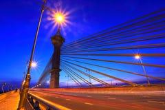 Maha Chetsada Bodinthranuson Bridge imagen de archivo libre de regalías