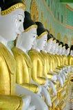 Maha Ganayon Kyaung, Amarapura. Royalty-vrije Stock Fotografie
