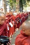 Maha Ganayon Kyaung, Amarapura. Stock Photos