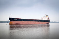 Maha Jacqueline industrial ship on St. Lawrence river Royalty Free Stock Photography