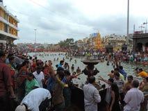 Maha Kumbh Mela 2015 Immagine Stock