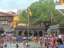 Maha Kumbh Mela 2015 Imagens de Stock