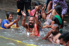 Maha kumbhmela Stock Photos