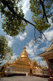 Maha Lokamarazein Kuthodaw Pagoda in Myanmar. Royalty Free Stock Images