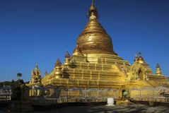Maha Lokamarazein Pagoda, Mandalay, Myanmar Birmanie images libres de droits