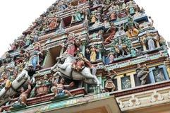 Maha Mariamman Hindu Temple Immagini Stock Libere da Diritti