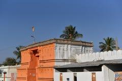 Maha Maya tempel, Kuknoor, Karnataka fotografering för bildbyråer