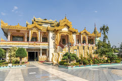 Maha Muni Complex. In Mandalay - Myanmar Royalty Free Stock Photography