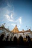 Maha Muni Pagoda in Mandalay city,Myanmar. Stock Photography
