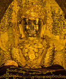 Maha Myat Muni Buddha image Royalty Free Stock Photos