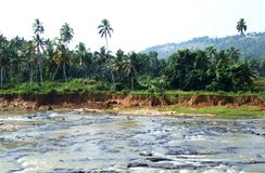 Maha Oya-rivier Stock Fotografie