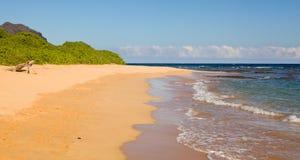 Maha'ulepu beach in Kauai Stock Images