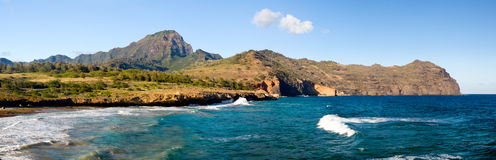 Maha'ulepu beach in Kauai Stock Photography