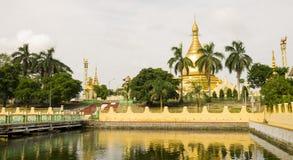 Maha Wizaya Pagoda Royaltyfri Bild