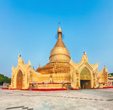 Maha Wizaya pagoda in Yangon. Myanmar. Stock Photo
