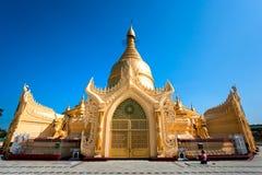 Maha Wizaya Paya, Yangoon, Myanmar. royalty free stock images